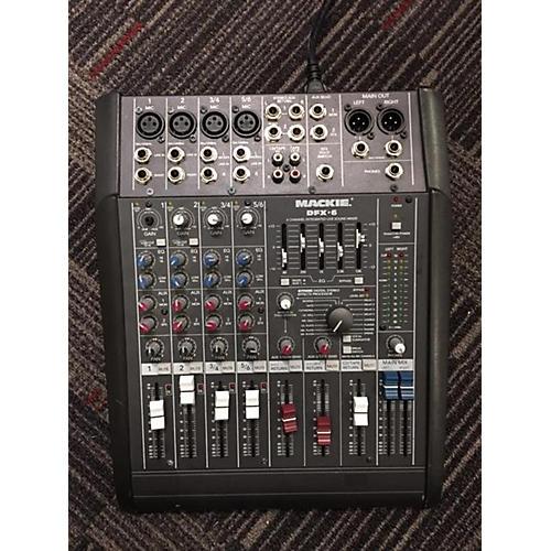 Mackie DFX6 Mixer Powered Mixer