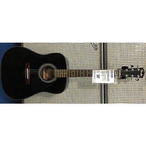 Fender DG-11 DREAD ACOUSTIC Black Acoustic Guitar