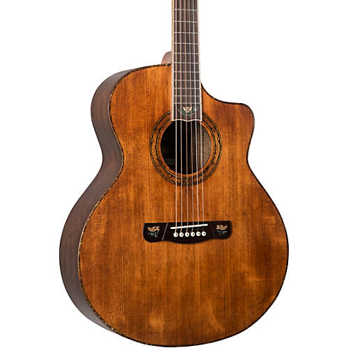 Merida DG20FOLC Concert Acoustic Guitar with Solid Spruce Top