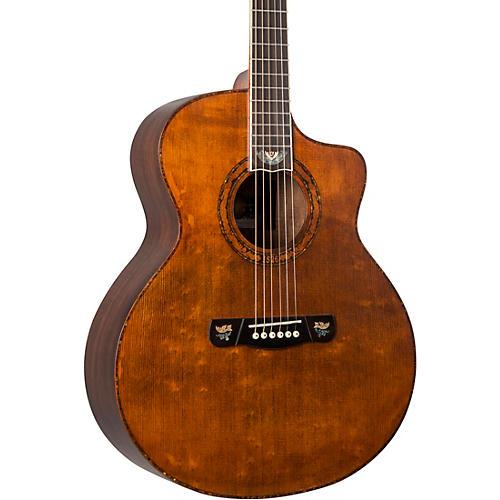 Merida DG20KOALC Concert Acoustic Guitar with Solid Spruce Top