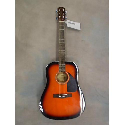 Fender DG60 3 Color Sunburst Acoustic Guitar