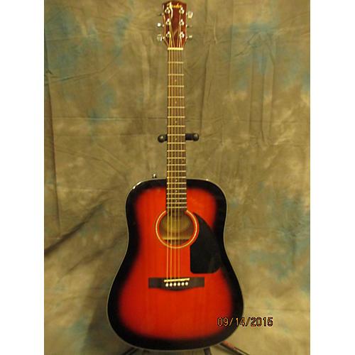 Fender DG60 Sunburst Acoustic Guitar