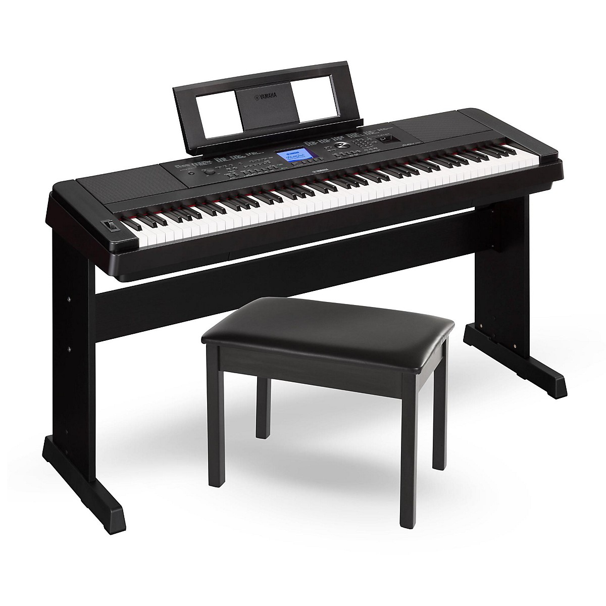 Yamaha DGX-660 88-Key Portable Grand Piano with Bench