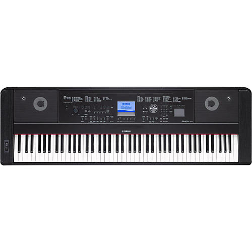 Yamaha dgx660 88 key portable grand guitar center for Yamaha learning keyboard