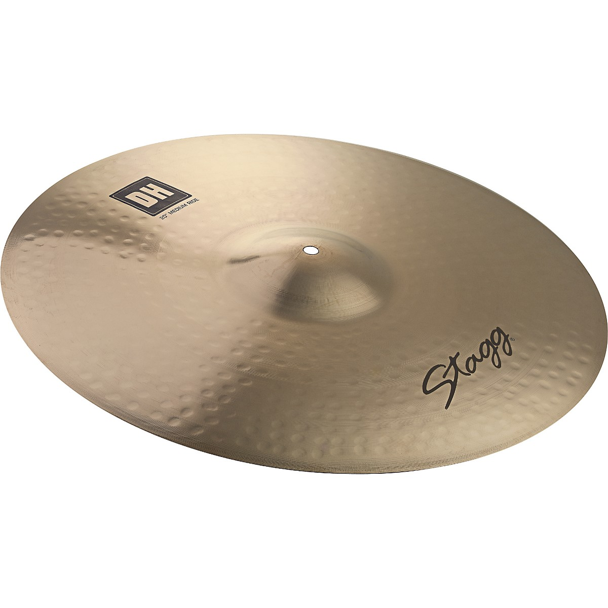 Stagg DH Dual-Hammered Brilliant Rock Ride Cymbal