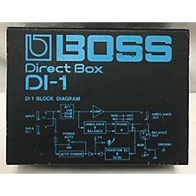 Boss DI1 Direct Box