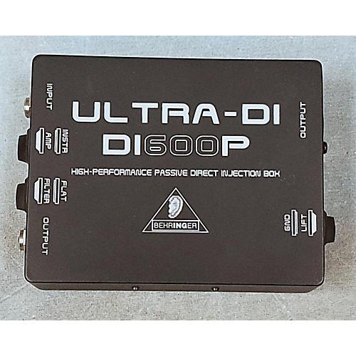 Behringer DI600P Passive Direct Box