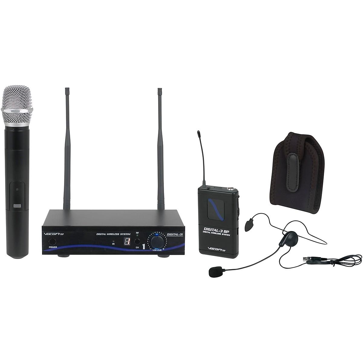 VocoPro DIGITAL-31-ULTRA Wireless System, Single-Channel