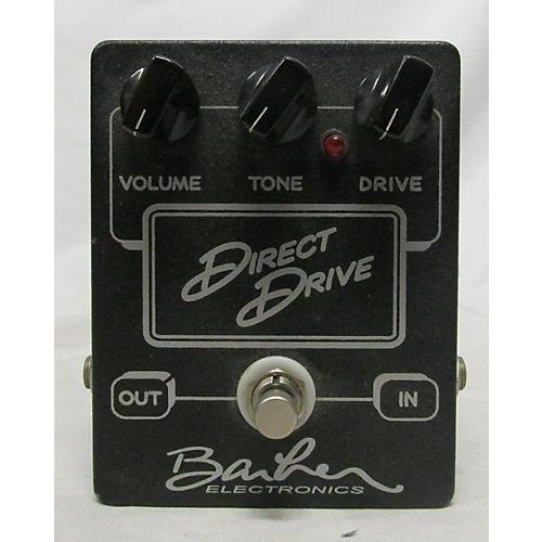 Barber Electronics DIRECT DRIVE BLACK Effect Pedal