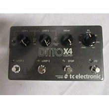 TC Electronic DITTO X4 Pedal