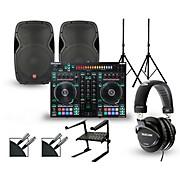 DJ-505 with Harbinger V1015 DJ Package