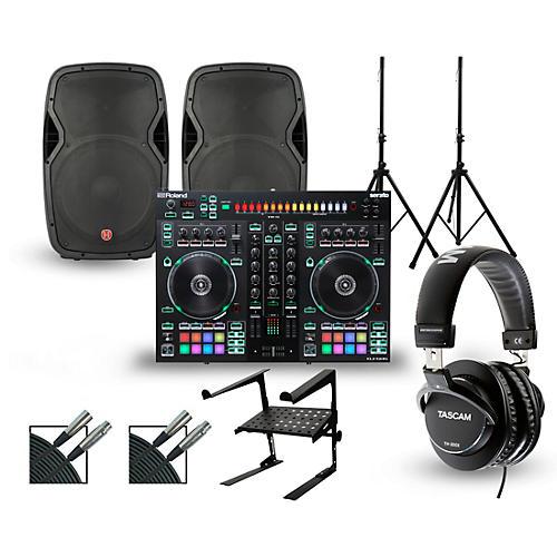 Roland DJ-505 with Harbinger V1015 DJ Package