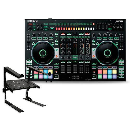 Roland DJ-808 DJ Controller with Laptop Stand