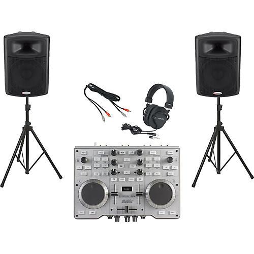 Hercules DJ DJ Console MK4 / Harbinger APS15 DJ Package