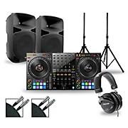 DJ Package with DDJ-1000 Controller and Gemini HPS BLU Series Speakers 15