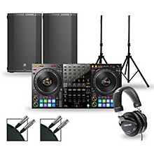 DJ Package with DDJ-1000 Controller and Mackie Thump Boosted Speakers 12
