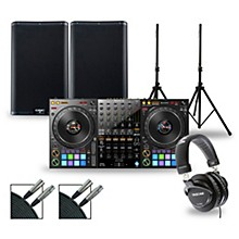DJ Package with DDJ-1000 Controller and QSC K.2 Series Speakers 10