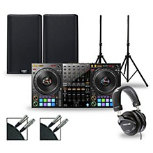 DJ Package with DDJ-1000 Controller and QSC K.2 Series Speakers 12