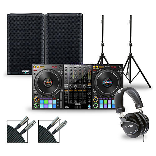 Pioneer DJ Package with DDJ-1000 Controller and QSC K.2 Series Speakers