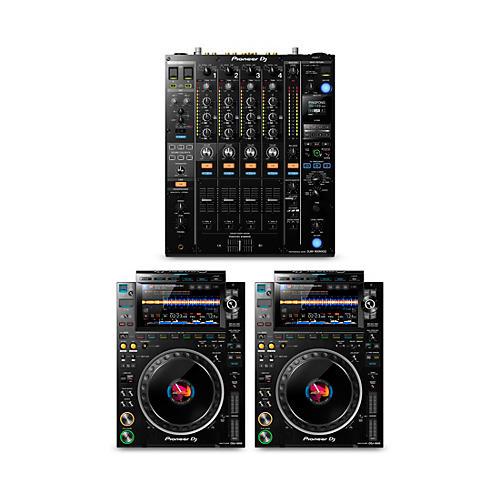 Pioneer DJ DJ Package with DJM-900NXS2 Mixer and CDJ-3000 Media Players