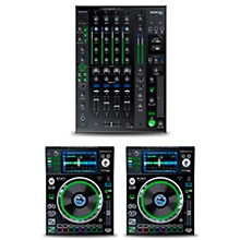 Denon DJ Package with X1800 PRIME Mixer and SC5000 PRIME Media Players
