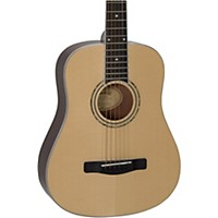 Deals on Mitchell DJ120 Junior Dreadnought Acoustic Guitar Natural