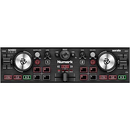 Numark DJ2GO2 Touch Pocket DJ Controller for Serato