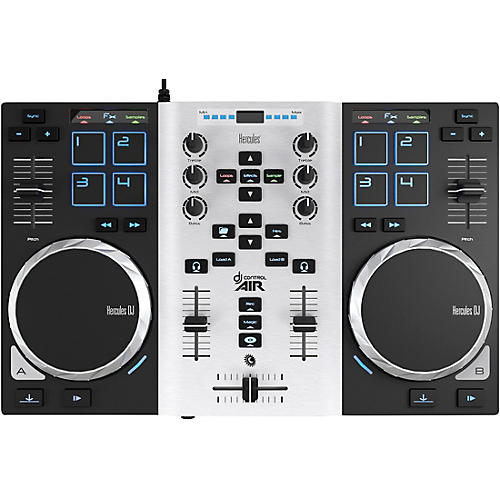 Hercules DJ DJControl Air S DJ Controller Party Pack with LED Light