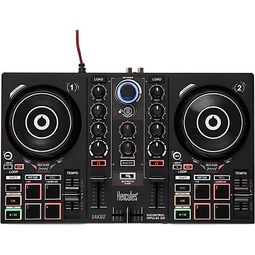 Hercules DJ DJControl Inpulse 200 DJ Controller