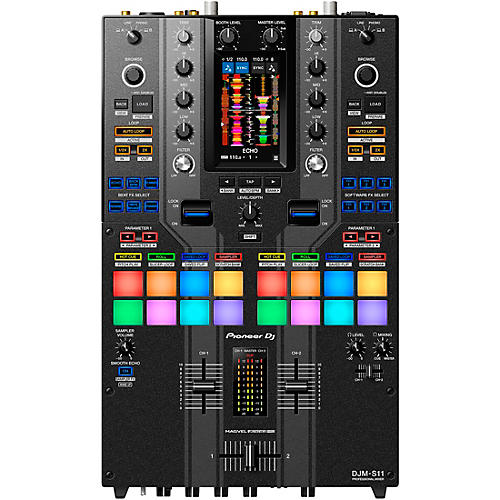 Pioneer DJ DJM-S11-SE Limited Edition 2-Channel Battle Mixer for Serato DJ & rekordbox with Performance Pads