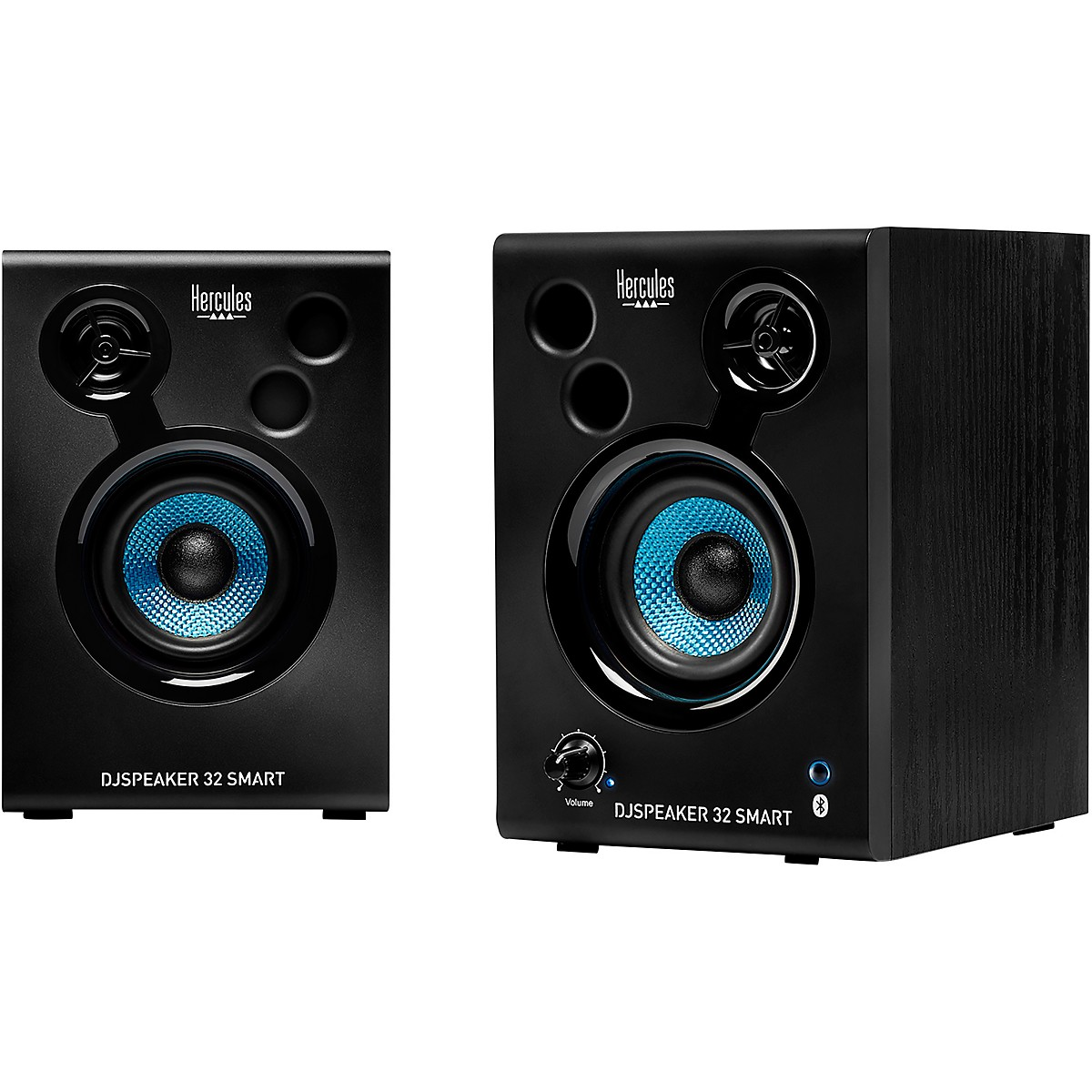 Hercules DJ DJSpeaker 32 Smart 15W 3″ Powered Speakers - Pair
