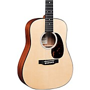 DJr-10E Sitka Top Dreadnought Junior Acoustic-Electric Guitar Natural