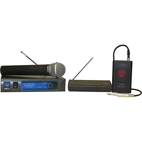 Nady DKW-8 GT/DKW-8 HT Guitar and Microphone Wireless Package