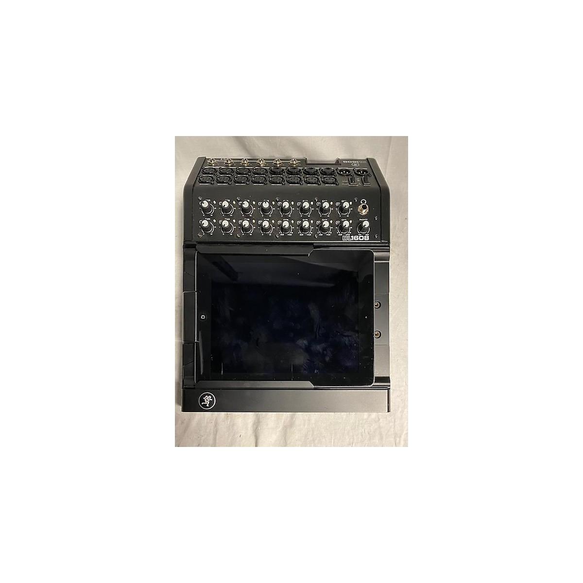 Mackie DL1608 With 1st Gen Ipad Digital Mixer