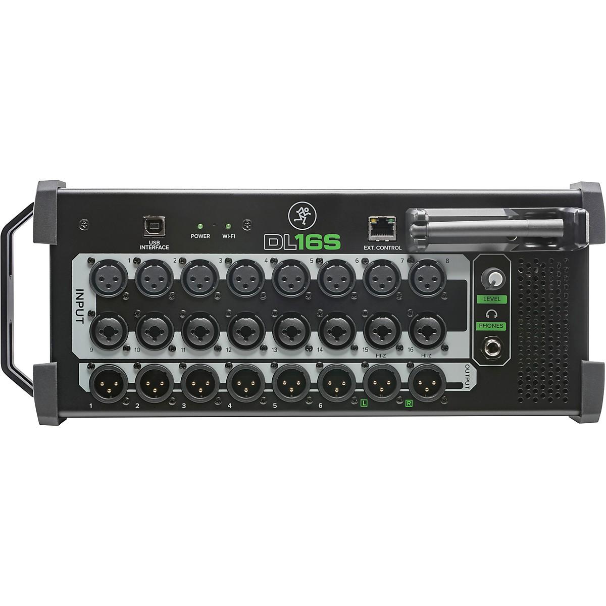 Mackie DL16S 16-Channel Wireless Digital Mixer with WiFi