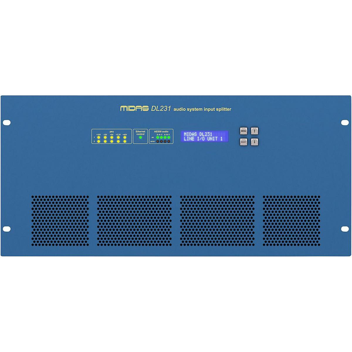 Midas DL231 24-Input 24-Output Active Microphone Splitter