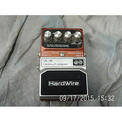 Digitech DL8 Hardwire Delay Looper Effect Pedal