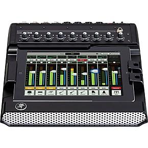mackie dl806 8 channel digital live sound mixer with ipad control guitar center. Black Bedroom Furniture Sets. Home Design Ideas