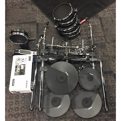 used alesis dm10 x mesh kit electric drum set guitar center