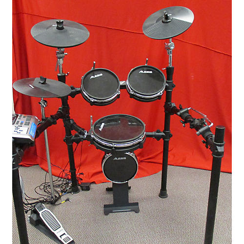 used alesis dm10x 6 piece electric drum set guitar center. Black Bedroom Furniture Sets. Home Design Ideas