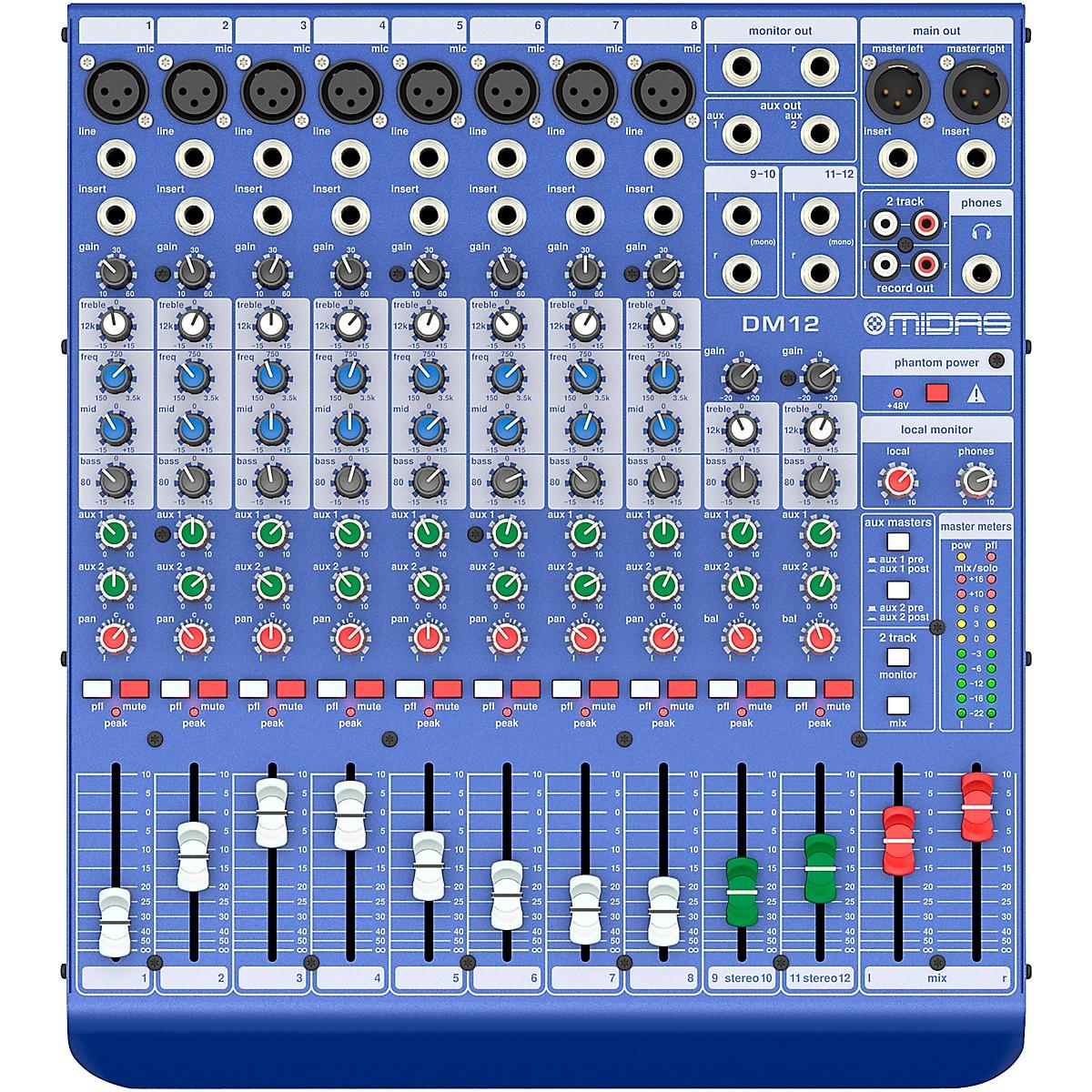 Midas DM12 12-channel Analog Mixer