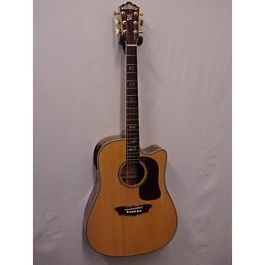 used washburn dm2000sce acoustic electric guitar guitar center. Black Bedroom Furniture Sets. Home Design Ideas