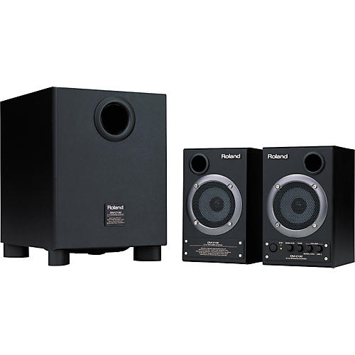 Roland DM2100 2.1 Channel Speaker System with Subwoofer