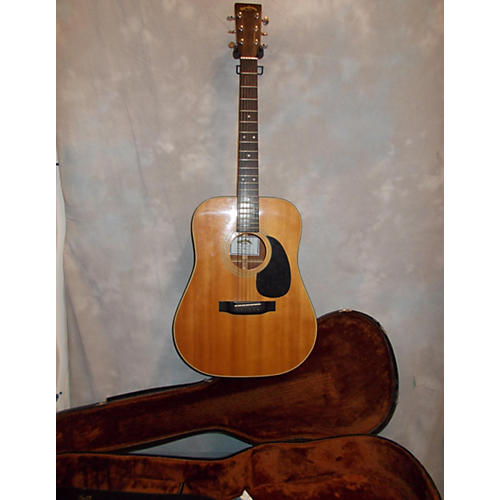 In Store Used DM4 Natural Acoustic Guitar