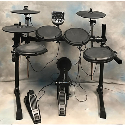 used alesis dm6 electric drum set guitar center. Black Bedroom Furniture Sets. Home Design Ideas