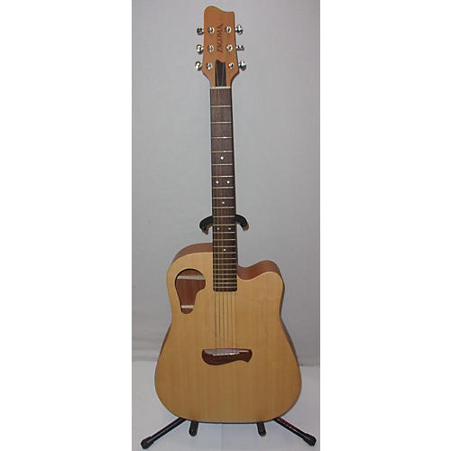 used tacoma dm8c acoustic guitar natural guitar center. Black Bedroom Furniture Sets. Home Design Ideas