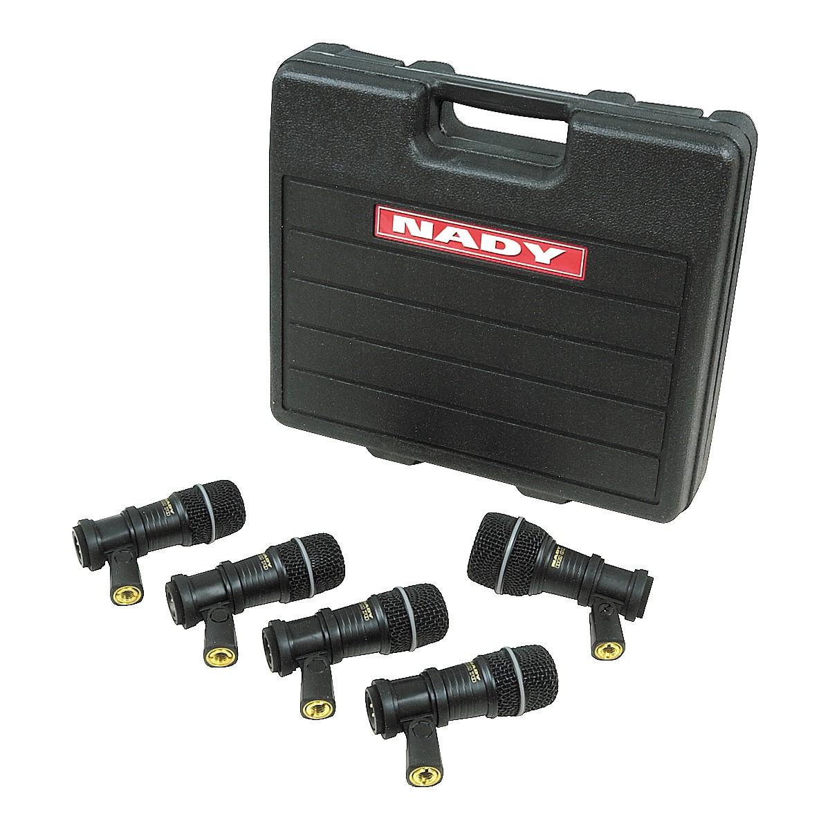 Nady DMK-5 Drum Mic Package