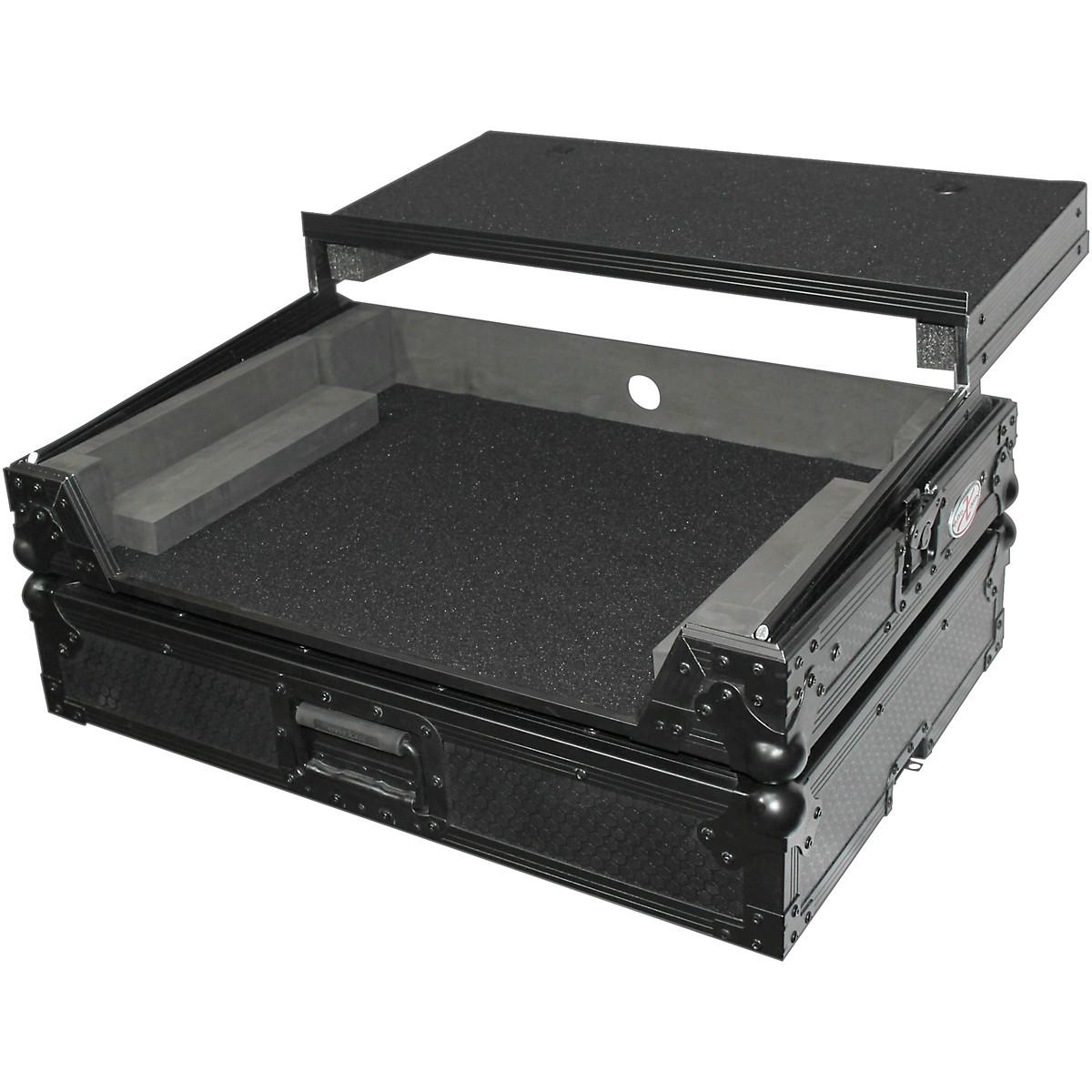 ProX DN-MC6000 MC6000MK2 Flight Case with Laptop Shelf (XS-DNMC6000LTBL)