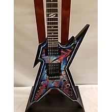Dean DNA SPLATTER RAZOZORBACK Solid Body Electric Guitar