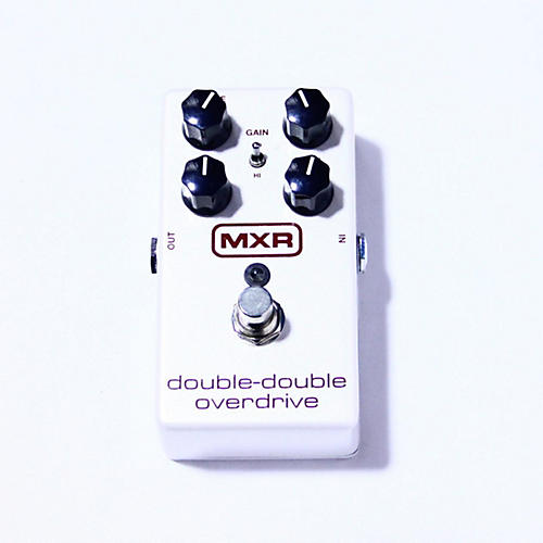 MXR DOUBLE-DOUBLE OVERDRIVE Effect Pedal
